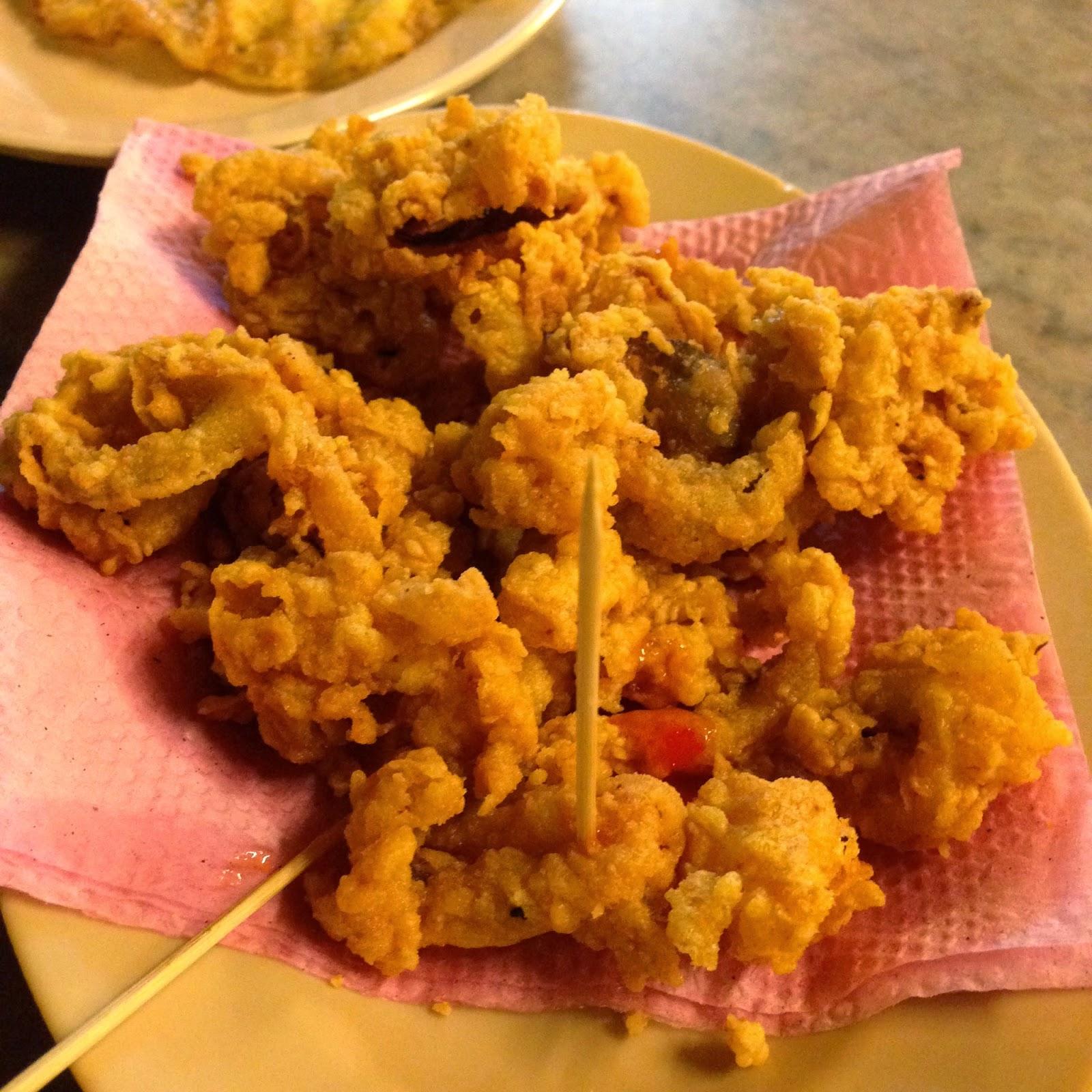 Sotong goreng tepung at Idrus Ikan Bakar