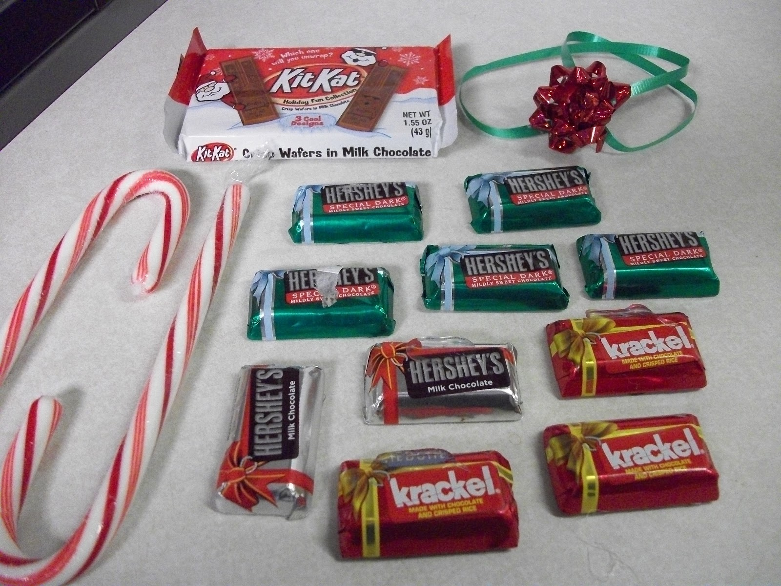 Krafty Cards etc.: Candy Cane Sled Gift Idea