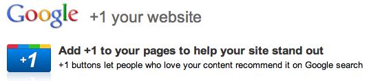 Trik Bisnis Terbaru Google +1