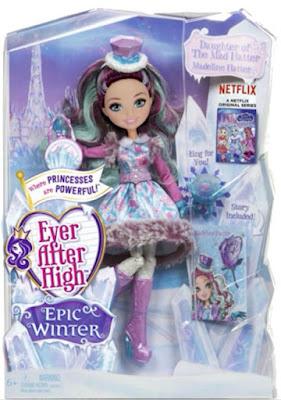 TOYS : JUGUETES - EVER AFTER HIGH  Epic Winter - Madeline Hatter | Muñeca - Doll  Producto Oficial Serie Netflix 2016 | Mattel | A partir de 6 años   Comprar en Amazon España & buy Amazon USA