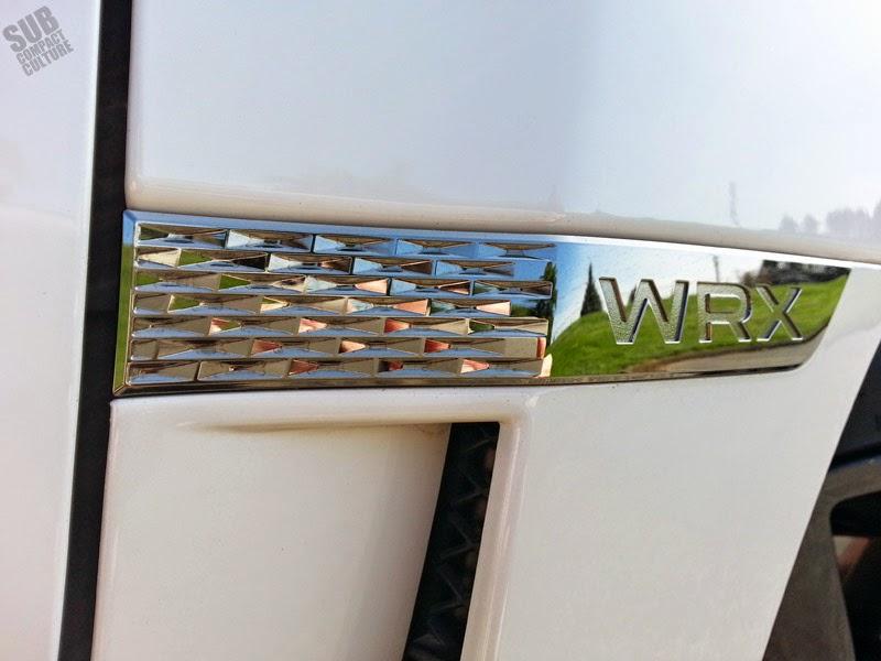 WRX badge