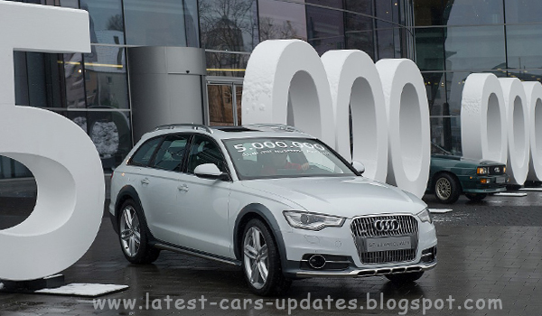 Audi's 5 Millionth car