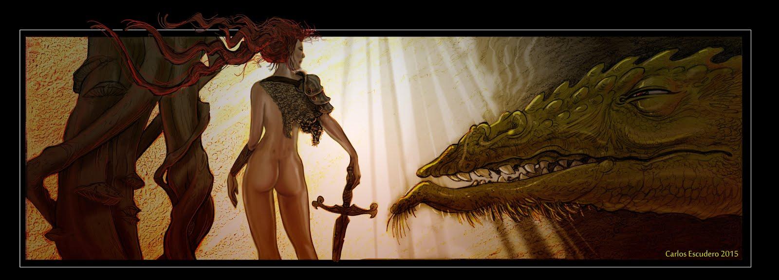 El dragón y ella