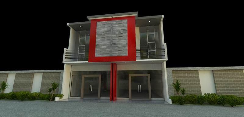 Download image Desain Ruko Modern Baik Exterior Maupun Interior Gambar ...