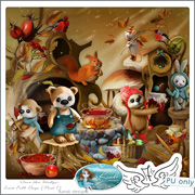 Over the Hedge: Last Fall Days (Part 1) by Kandi Designs