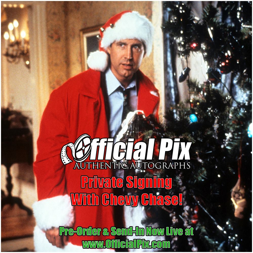 """Official Pix """"Vacation"""" signings with Chevy Chase, Beverly D'Angelo, Randy Quaid and Dana Barron!"""