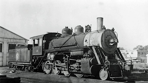 CHV #21 Steam Engine 1-4-0 probably built by ALCO