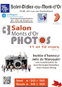 4 membres d'Image Contact exposent au Salon Monts d'Or Photos les 11 et 12 mars