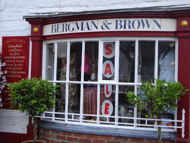 Bergman & Brown's attractive frontage