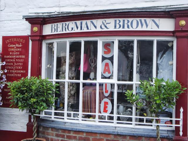 Bergman & Brown's attractive frontage