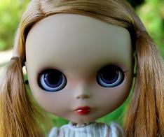 Tan OOAK Blythe Custom