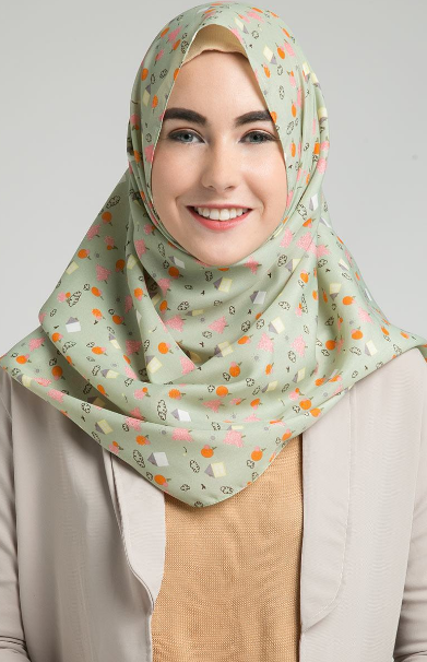 Contoh Hijab Modern Sederhana
