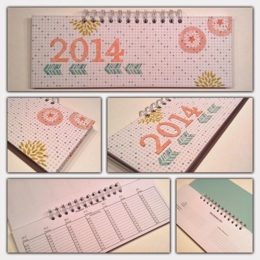 Wochentischkalender 2014