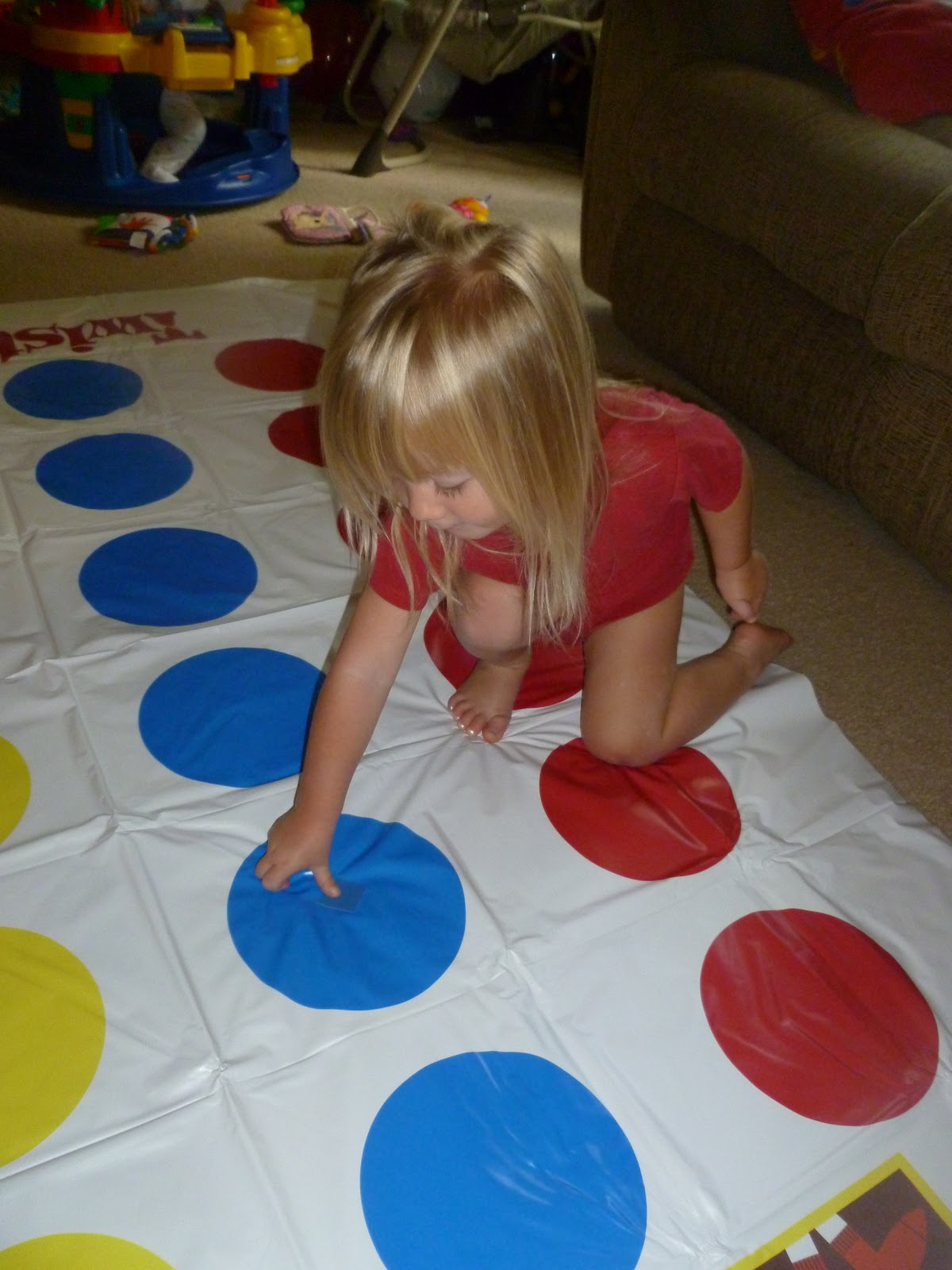 Paint Chip Twister Match Game Interactive Hands On