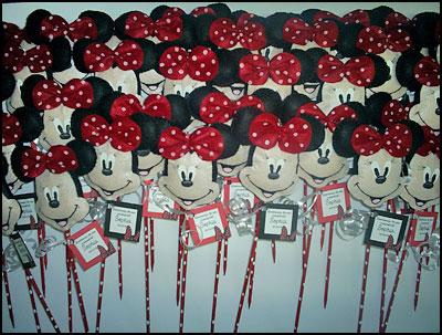 Minnie: ideias para decorar uma festa infantil com a