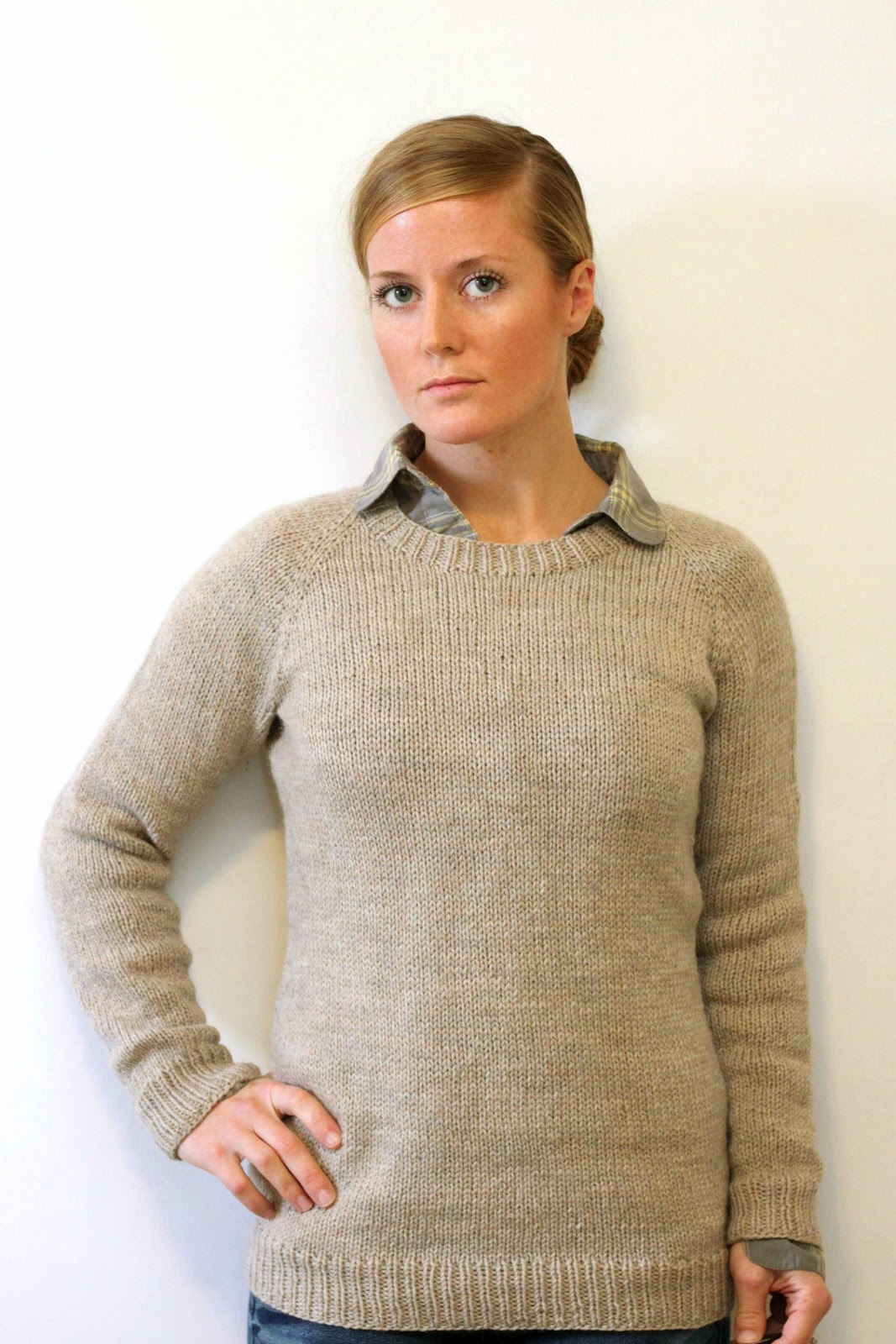 Jane Richmond Blog: Ladies Classic Raglan Pullover
