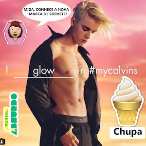 Nudes de Justin Bieber para campanha da Calvin Klein