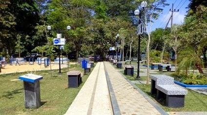 fasilitas taman merbabu kota malang