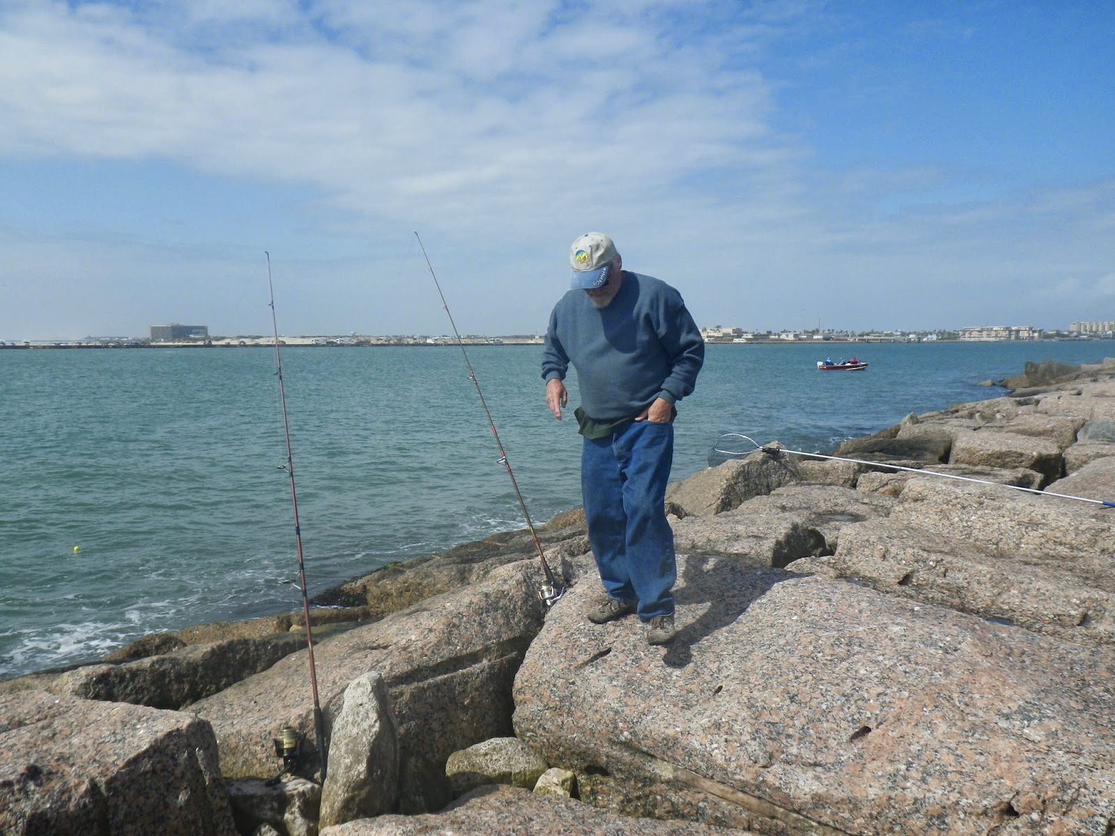 Doing it on the road part ii black drum on the north for Aransas pass fishing
