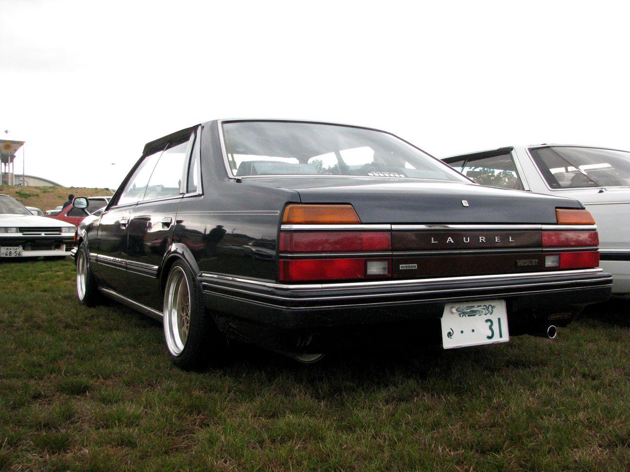 Nissan Laurel C31, tylnonapędowe sedany, japońska motoryzacja, mało znane samochody, JDM, tuning, galeria
