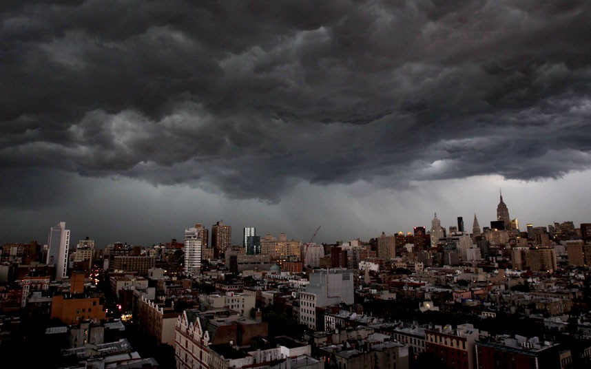 clouds over new york - photo #19