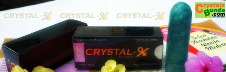 Crystal X Secara Tuntas Menyembuhkan Keputihan.