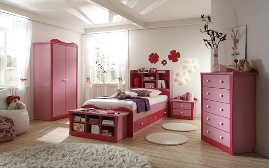 Girls Rooms Interior Ideas