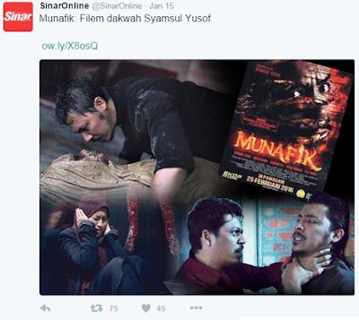 Munafik Filem Dakwah Syamsul Yusof