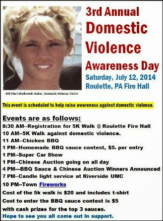 7-12 Domestic Violence Awareness Day