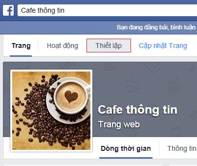 Cách thay đổi tên Page trên Facebook 2014