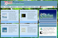 Slide sebagai Background Blog