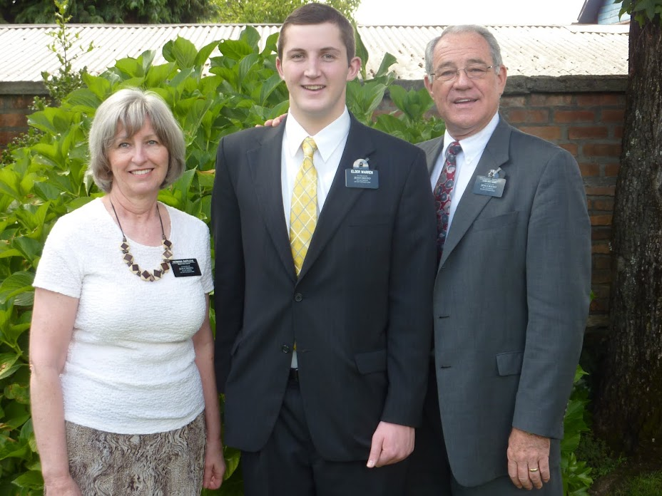 Elder McKay Warren's Mission Blog
