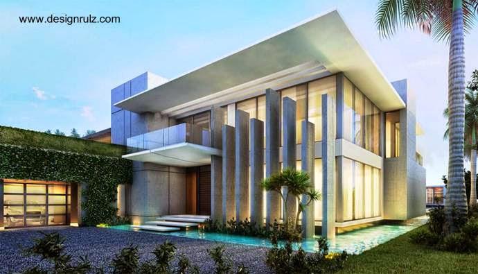 Residencia lujosa contemporánea en Star Island, Miami 2012