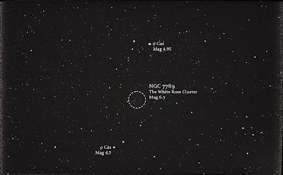 NGC 7789 white rose cluster