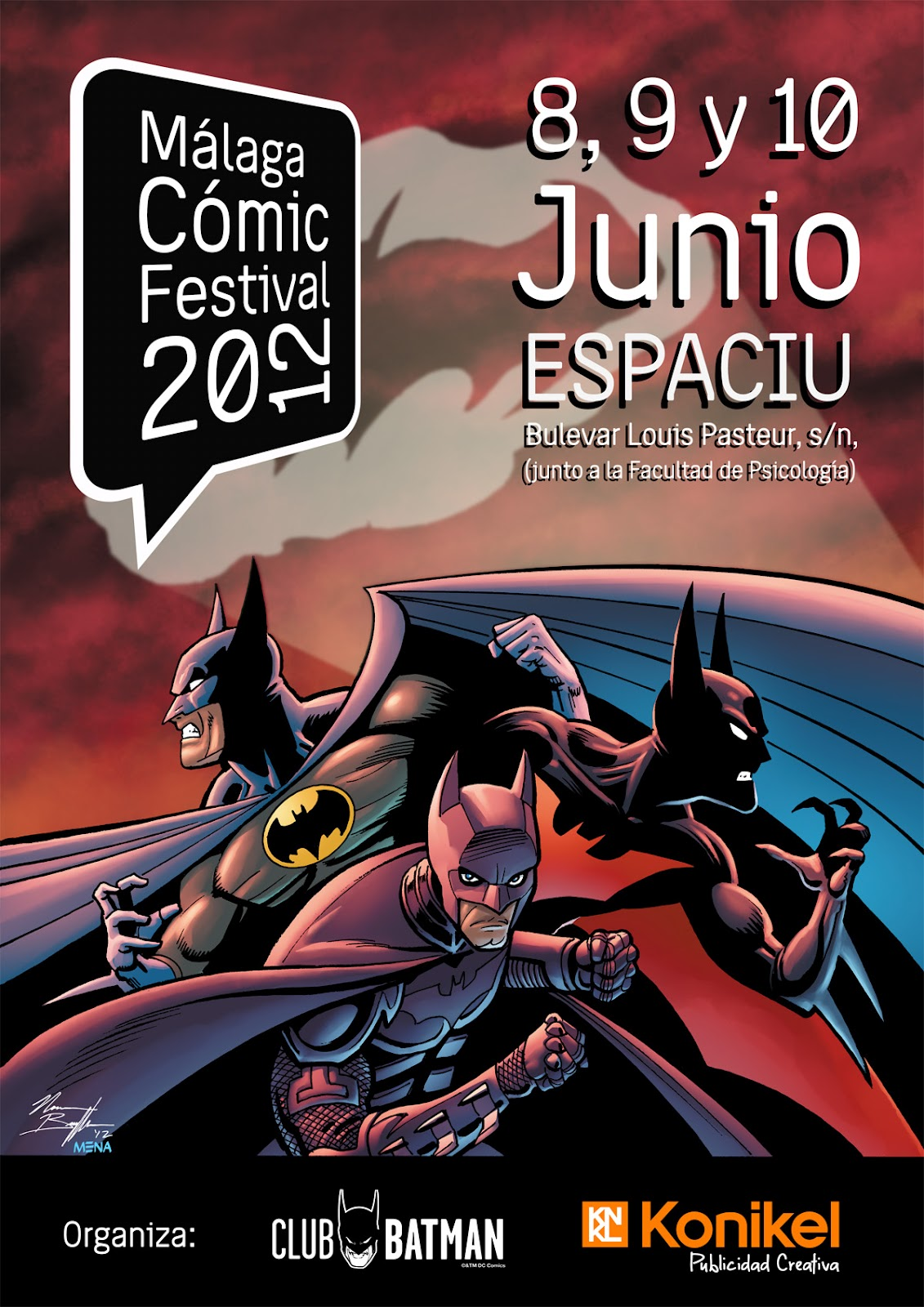 Málaga Comic Festival 2012 MCFPosterINTERNETlr