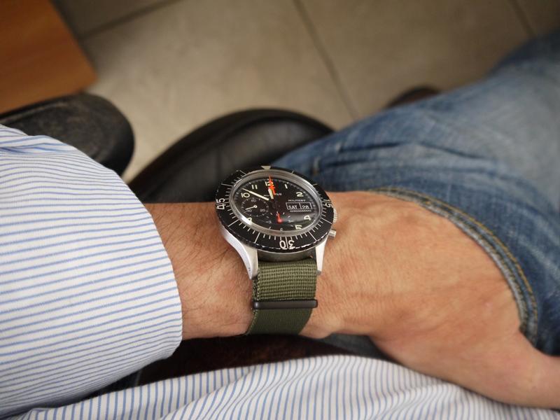 Sinn 156, 1ere Generation 156+wrist