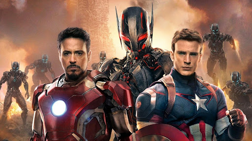 Avengers: Age Of Ultron Iron man & Captain America
