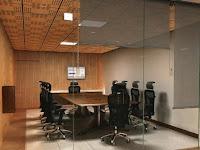 Sala de reuniones con videowalls