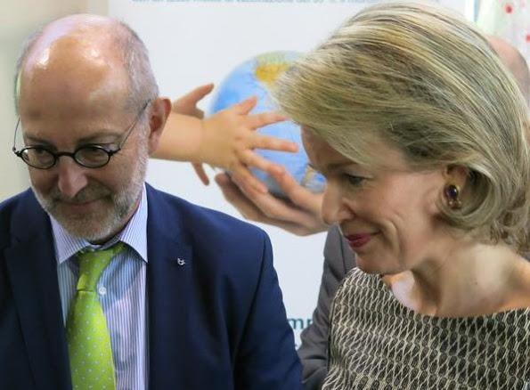 Queen Mathilde Was At National Immunization Programme