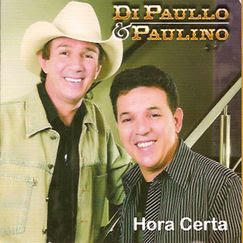 Capa do CD Di Paullo e Paulino - Hora Certa