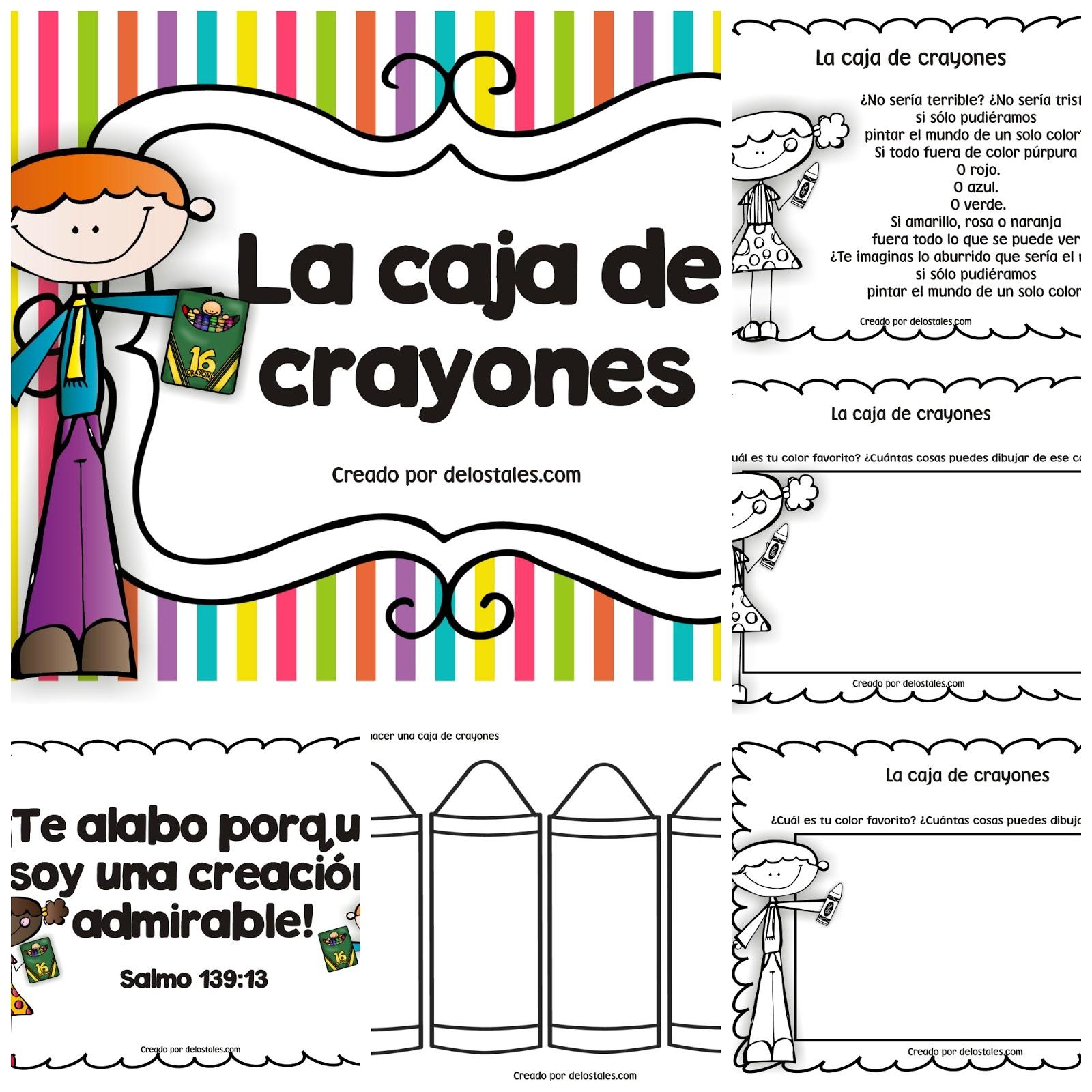 Semana 9- La caja de crayones - De los tales