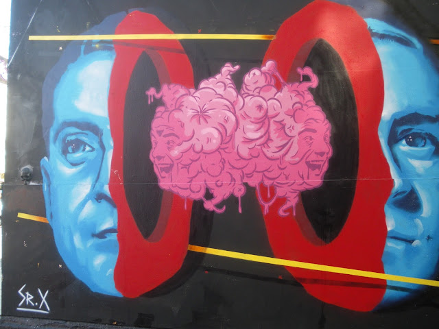 Camden Town street art brain
