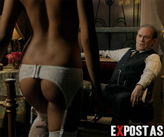 FOTOS! Raquel Villar nua com os peitos à mostra em 'Gabriela', sem censura, +18
