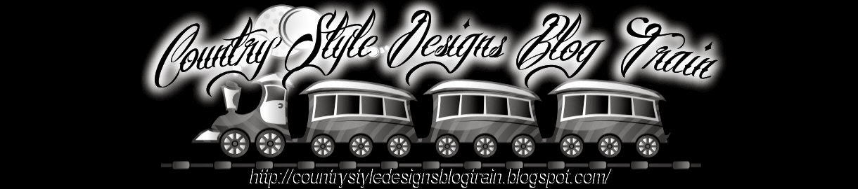 Country Style Designs Blog Train