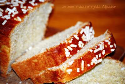 Pan brioche senza impasto con lievito madre