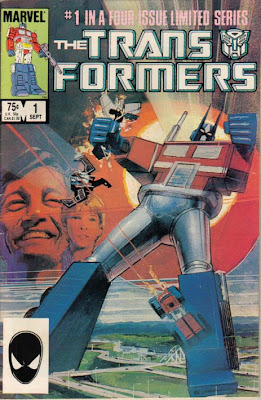 Marvel Comics' Transformers Comic Book