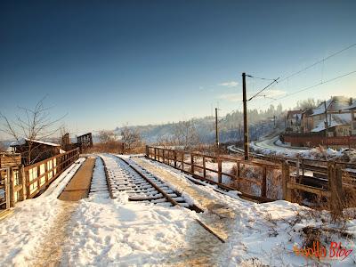 Cale ferata decorativa - Toplita