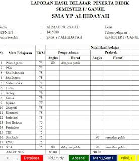 APLIKASI RAPORT SMA KTSP FINAL 2015-2016