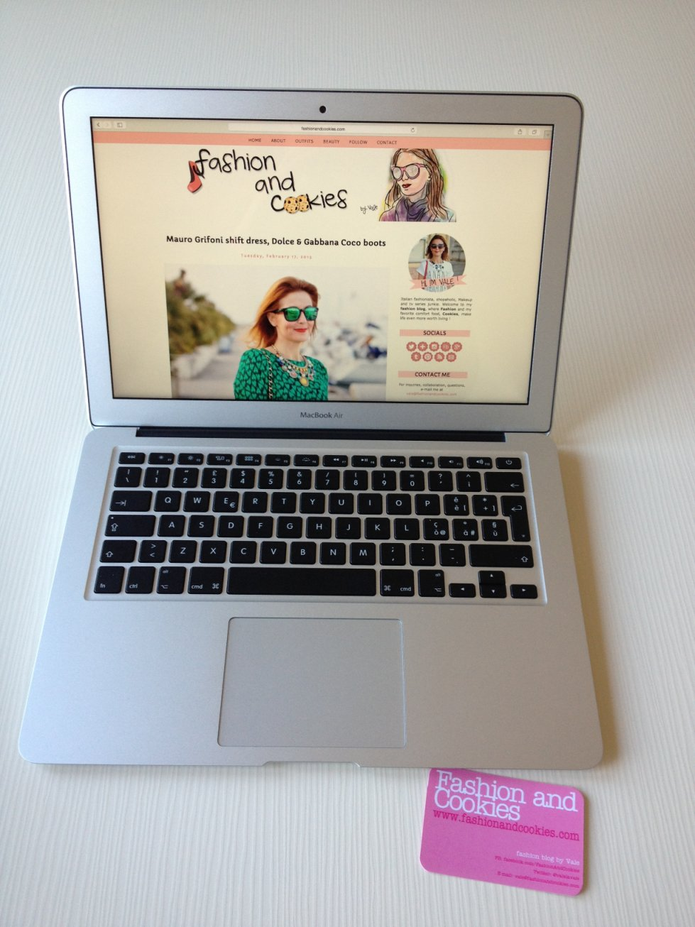 "How to protect Apple 13"" MacBook Air case on Fashion and Cookies fashion blog"