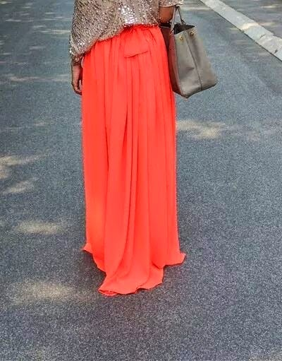 robe hijab de couleur orange